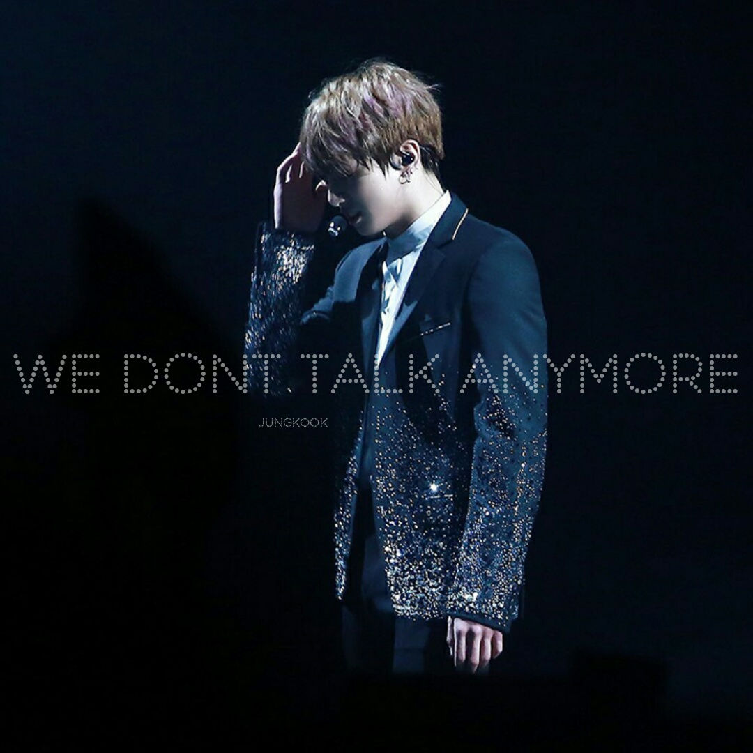 Single Jungkook We Don T Talk Anymore Cover Mp3 Meeting Army